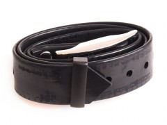 Plastic collar black, 25 mm