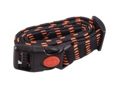Rubber collar, black-orange width 25 mm