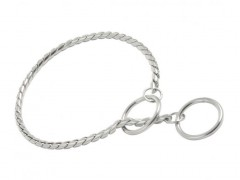 Chain collar DeLuxe, silver